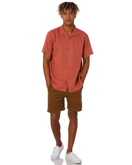 RUST OUTLET MENS ACADEMY BRAND SHIRTS - BA899RUST