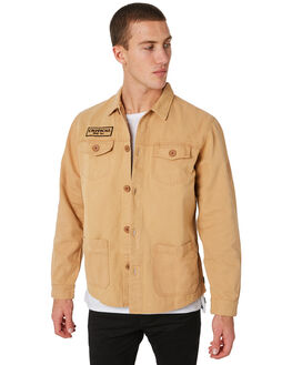 CAMEL OUTLET MENS THE CRITICAL SLIDE SOCIETY JACKETS - WSJ1704CAMEL