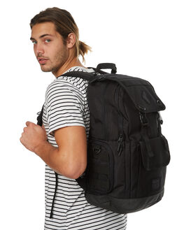 ALL BLACK MENS ACCESSORIES ELEMENT BAGS + BACKPACKS - 173482AABLK