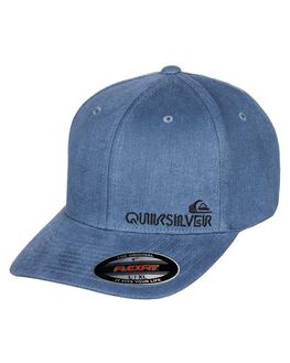 STONE WASH MENS ACCESSORIES QUIKSILVER HEADWEAR - AQYHA04574-BKJ0