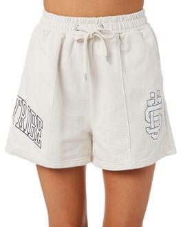 WHITE SAND WOMENS CLOTHING STUSSY SHORTS - ST195613WHT 6204ff3deff4
