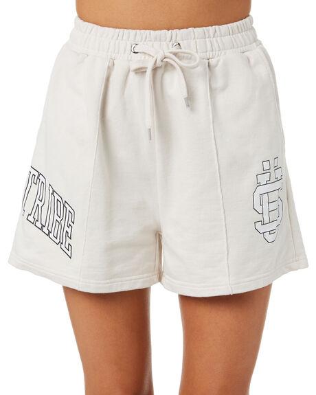 WHITE SAND WOMENS CLOTHING STUSSY SHORTS - ST195613WHT
