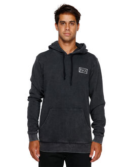 BLACK ACID MENS CLOTHING RVCA JUMPERS - RV-R191153-252