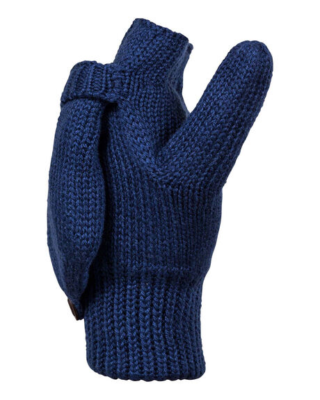 MEDIEVAL BLUE WOMENS ACCESSORIES ROXY SCARVES + GLOVES - ERJHN03141-BTE0