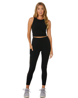 BLACK WOMENS CLOTHING THE UPSIDE ACTIVEWEAR - USW120003BLK