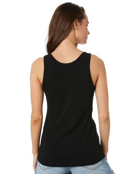 BLACK WOMENS CLOTHING SWELL SINGLETS - S8182272BLACK