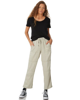 MOSS GREY WOMENS CLOTHING SWELL PANTS - S8182195MSSGY