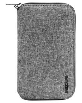 HEATHER GRAY MENS ACCESSORIES INCASE WALLETS - CL90023HGY