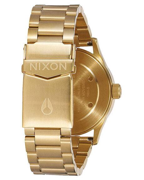 GOLD BLACK SUNRAY MENS ACCESSORIES NIXON WATCHES - A4501604