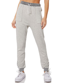 GREY MARLE WOMENS CLOTHING ELWOOD PANTS - W91601GRYMA