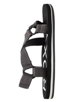 BLACK 3 WOMENS FOOTWEAR ROXY FASHION SANDALS - ARJL100771-BK3