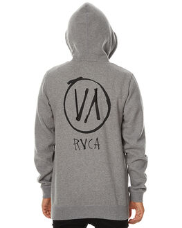 GREY MARLE MENS CLOTHING RVCA JUMPERS - R174157GRYM