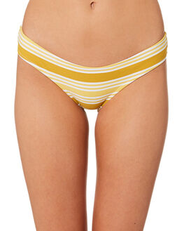 CHARTREUSE WOMENS SWIMWEAR RHYTHM BIKINI BOTTOMS - JAN19W-SW37-CHA