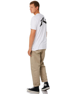 WHITE MENS CLOTHING RUSTY TEES - TTM1612WHT