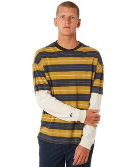 MUSTARD MENS CLOTHING GLOBE TEES - GB01811011MUST