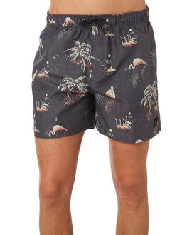 BLACK MENS CLOTHING RIP CURL BOARDSHORTS - CBOSX10090