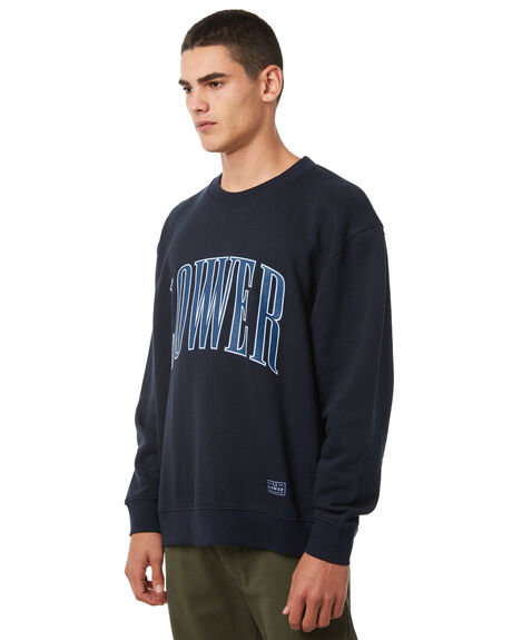 NAVY MENS CLOTHING LOWER JUMPERS - LO18Q3MSW01NVY