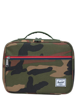WOODLAND CAMO MULTI KIDS BOYS HERSCHEL SUPPLY CO OTHER - 10227-02699-OSWCM