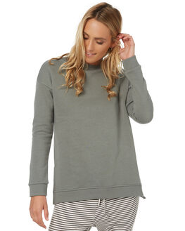 DARK SAGE WOMENS CLOTHING SWELL JUMPERS - S8173556SAG