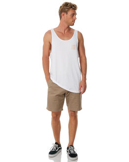 WHITE MENS CLOTHING SWELL SINGLETS - S5184271WHITE