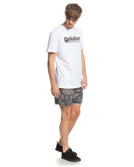 BLACK MICRODOSE MENS CLOTHING QUIKSILVER SHORTS - EQYWS03669-KVJ8