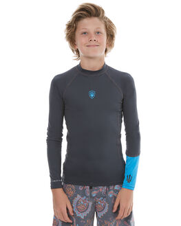 CHARCOAL SURF RASHVESTS FAR KING BOYS - 2063BLKBL