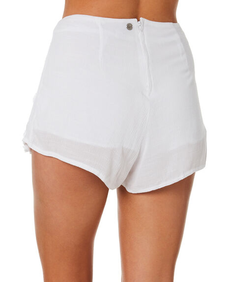 WHITE OUTLET WOMENS ALL ABOUT EVE SHORTS - 6423055WHT