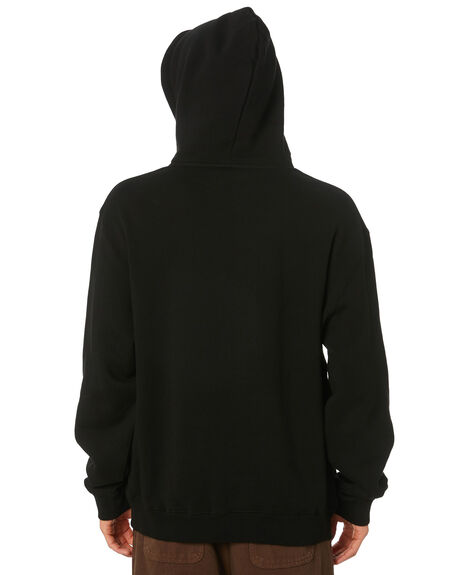BLACK MENS CLOTHING XLARGE JUMPERS - XL003205BLK
