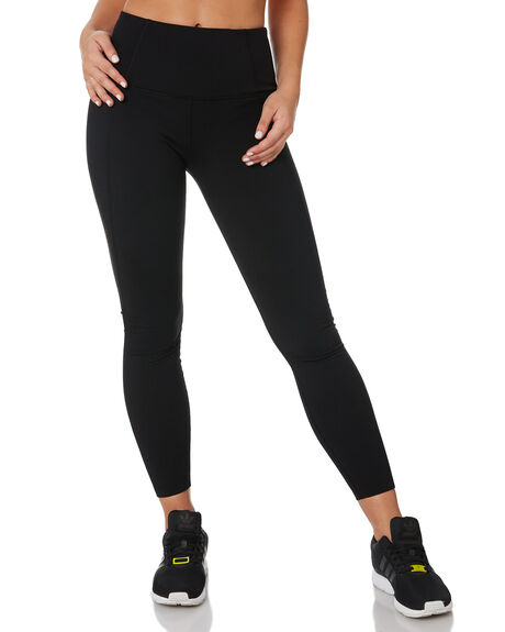 BLACK WOMENS CLOTHING LORNA JANE PANTS - LB0225BLK