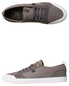 CHARCOAL MENS FOOTWEAR DC SHOES SKATE SHOES - ADYS300203CHR