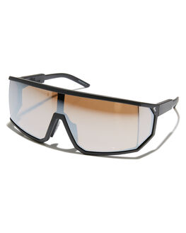 MATTE BLACK SILVER MENS ACCESSORIES QUIKSILVER SUNGLASSES - EQYEY03079XKBK
