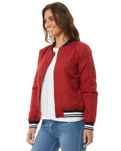 RED DAHLIA OUTLET WOMENS ELEMENT JACKETS - 286457RDL