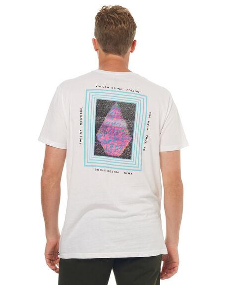 WHITE MENS CLOTHING VOLCOM TEES - A5041705WHT