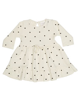 WHITE KIDS BABY FRANKIE JONES CLOTHING - RITCHIEDRSWHT