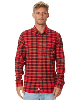SANGRIA RED MENS CLOTHING ELEMENT SHIRTS - 176214SRED
