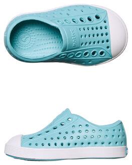 POOL BLUE KIDS GIRLS NATIVE FOOTWEAR - 13100100-4331