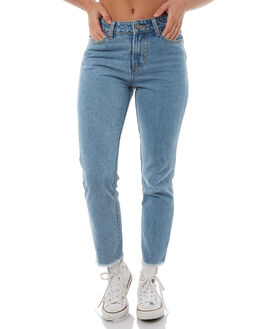 SHIFT BLUE WOMENS CLOTHING RUSTY JEANS - PAL1067SLE