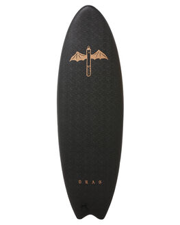BLACK METALLIC SURF SOFTBOARDS DRAG FUNBOARD - DBCDARTBLKMT