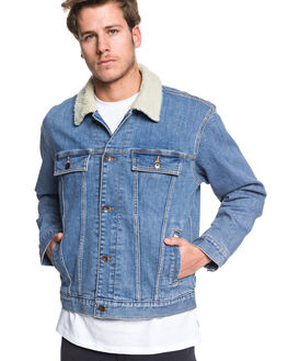BLUE USED MENS CLOTHING QUIKSILVER JACKETS - EQYJK03509-BYLW