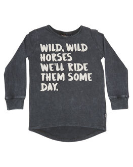 CHARCOAL KIDS TODDLER GIRLS ROCK YOUR BABY TEES - TGT1845-WWCHAR