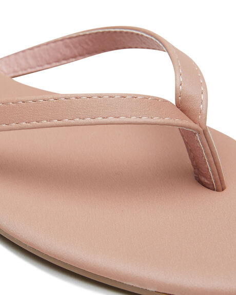 PINK SMOOTH OUTLET WOMENS THERAPY THONGS - SOLE-2030PNK