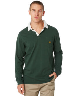 BOTTLE GREEN MENS CLOTHING DEPACTUS SHIRTS - D5194140BTLGN
