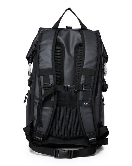 BLACK MENS ACCESSORIES RVCA BAGS + BACKPACKS - R391460BLK
