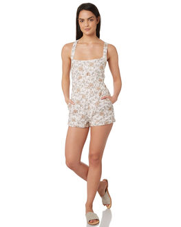 WHITE WOMENS CLOTHING TIGERLILY PLAYSUITS + OVERALLS - T395446WHT