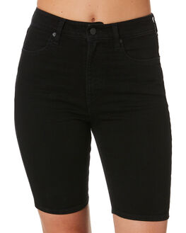 PREMIUM WASH BLACK WOMENS CLOTHING VOLCOM SHORTS - B2012000PBK