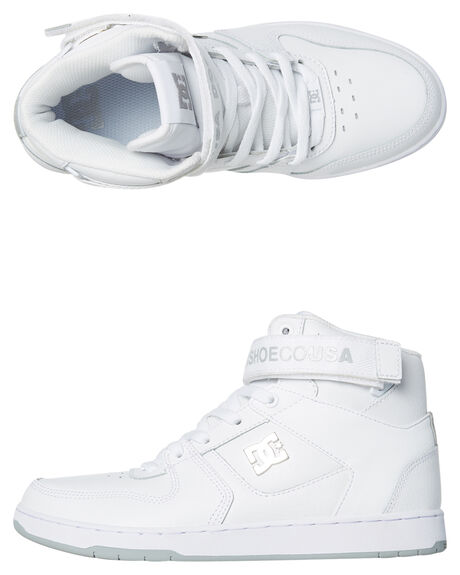 WHITE MENS FOOTWEAR DC SHOES SNEAKERS - ADYS400038WHT
