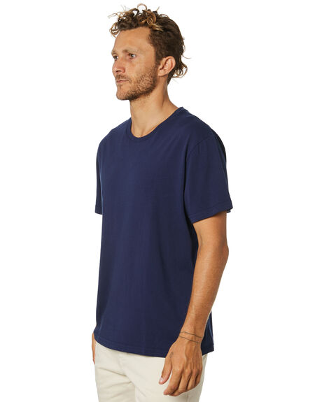 NAVY MENS CLOTHING ACADEMY BRAND TEES - 21S440NVY