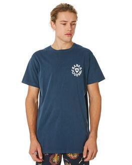 INSIGNIA BLUE MENS CLOTHING BANKS TEES - WTS0335ISB