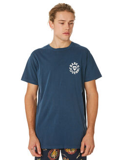 INSIGNIA BLUE MENS CLOTHING BANKS TEES - WTS0335ISB