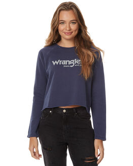 INK WOMENS CLOTHING WRANGLER JUMPERS - W-950795-439INK